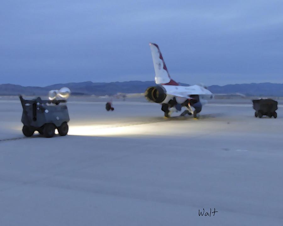 Military Digital Art - Morning Go by Walter Chamberlain