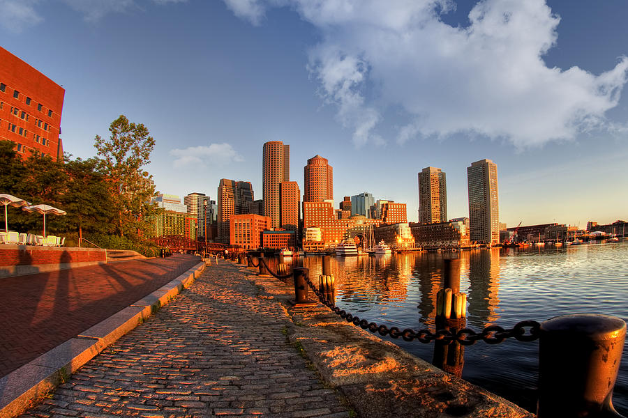 Boston Photograph - Morning Has Broken by Joann Vitali