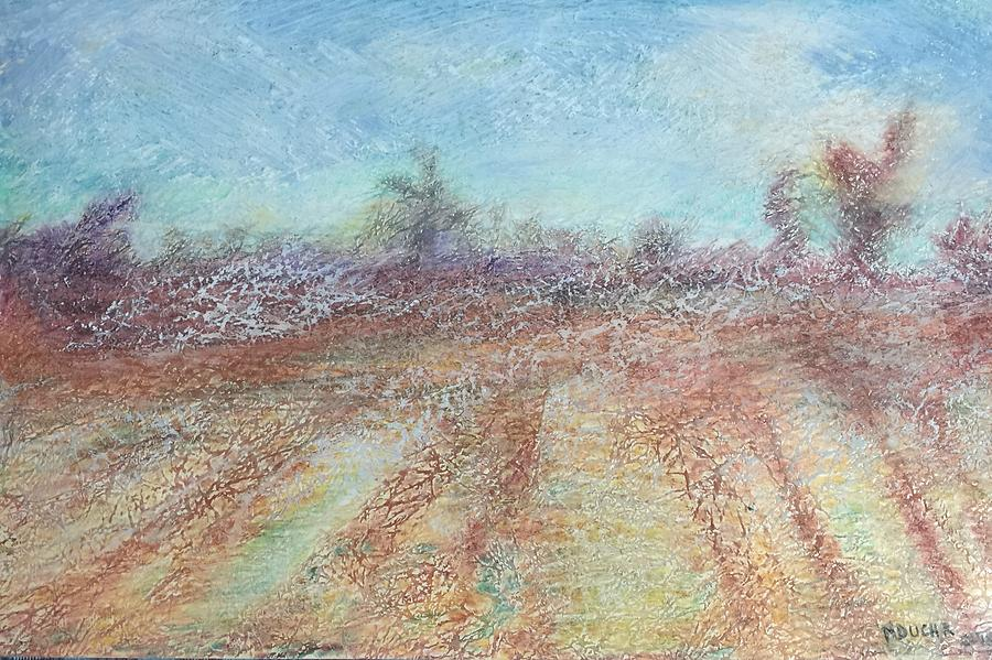 Oil Pastels Mixed Media - Morning has Broken  by Norma Duch