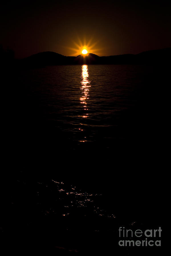 Sunrise Photograph - Morning Has Broken by Tamyra Ayles