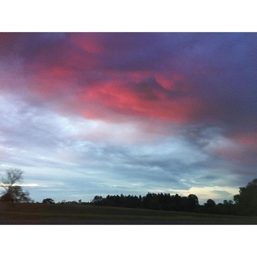 Sunrise Photograph - Morning Hues #sunrise #ontheroad by Joan McCool