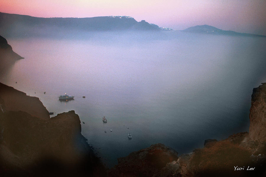 Morning In Oia Photograph