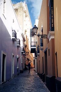 Old San Juan Photograph - Morning In Old San Juan by Scott Mahrer