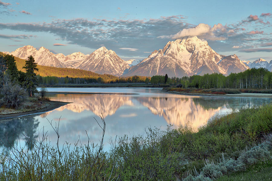 Morning Light at Oxbow Bend by Joe Paul