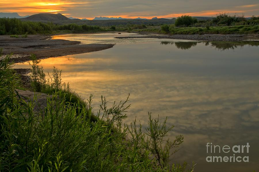 Santa Elena Photograph - Morning Light At The Rio Grande by Adam Jewell