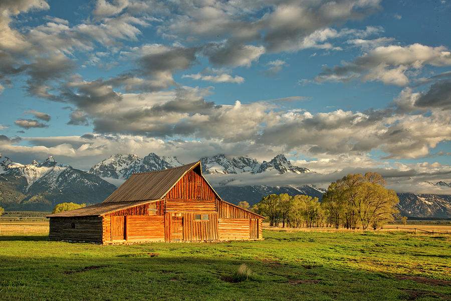 Morning Light on Moulton Barn #2 by Joe Paul