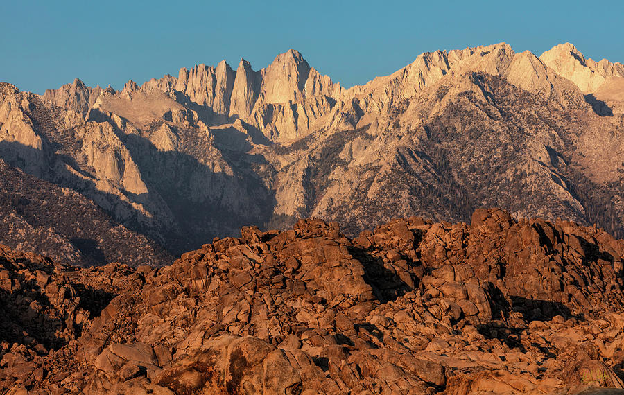 Morning Light On Mt. Whitney by Stuart Gordon