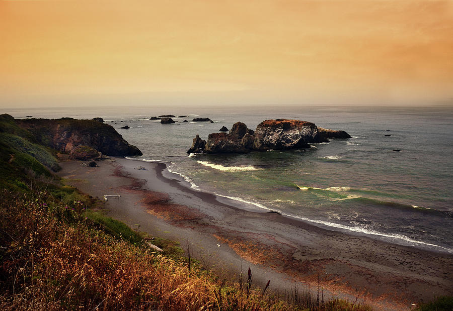 Morning Light On The Pacific Ocean Photograph