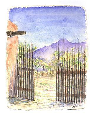 Landscape Painting - Morning Light by Richard Bulman