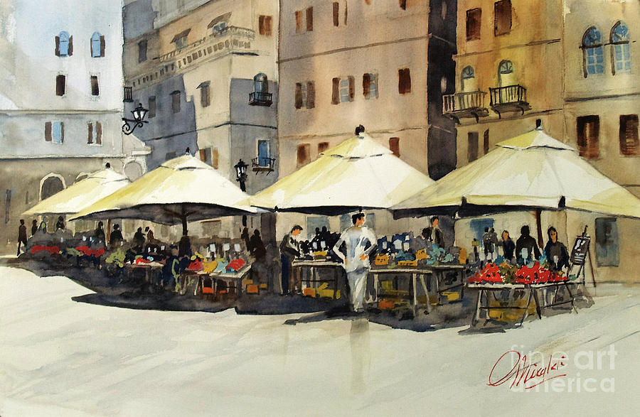 Morning Market by Gerald Miraldi