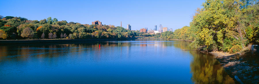 Color Image Photograph - Morning, Minneapolis, Minnesota by Panoramic Images