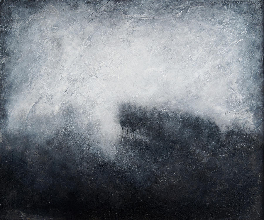 Acrylic Painting - Morning Mist 1 by Christian Klute