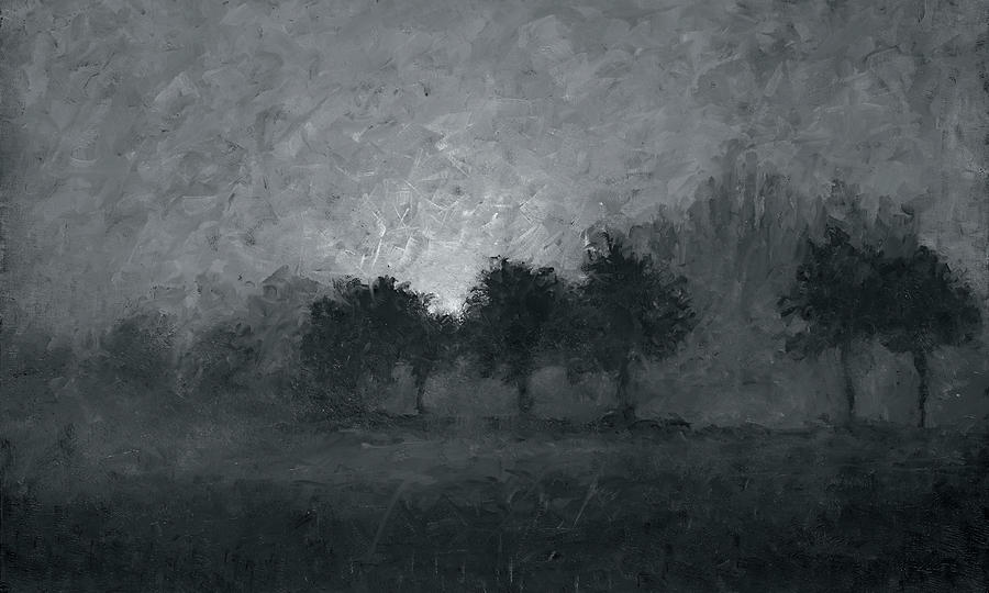 Mist Painting - Morning Mist 3 by Christian Klute