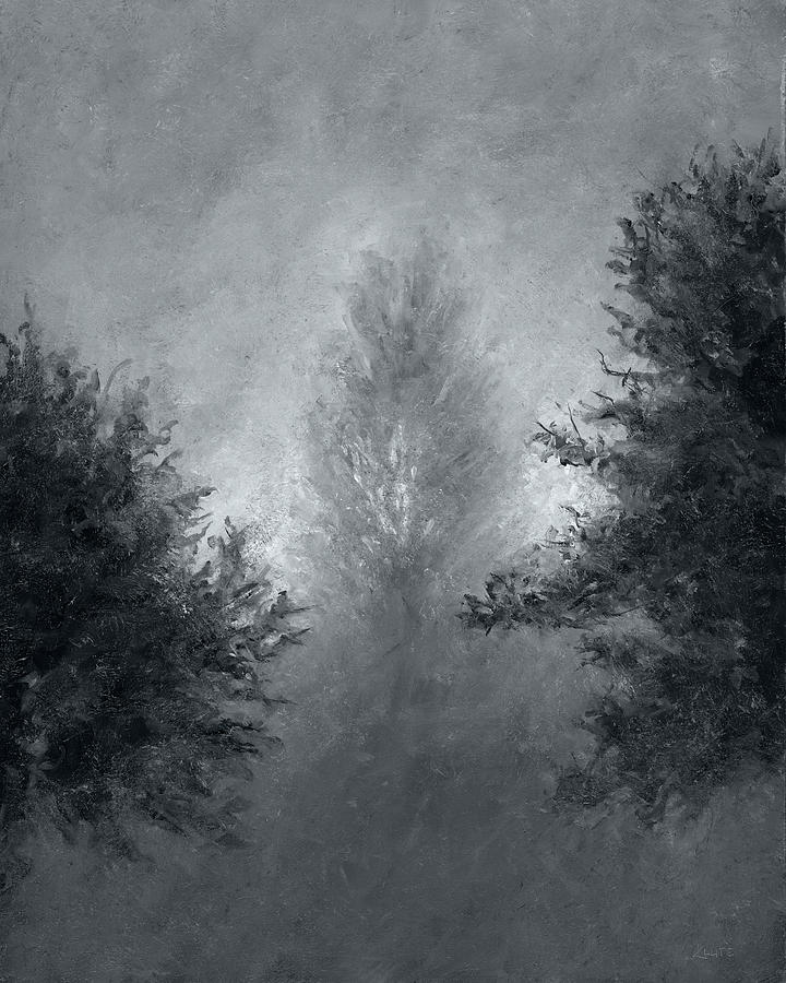 Landscape Painting - Morning Mist 4 by Christian Klute