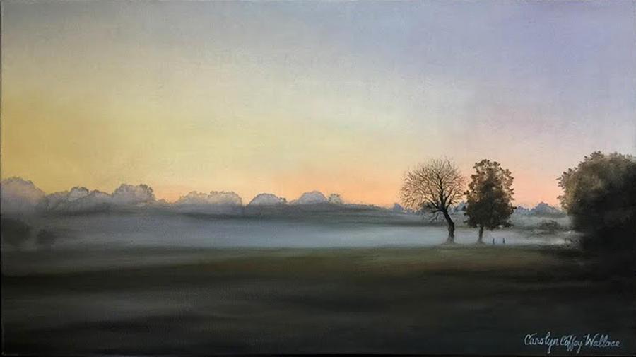 Morning Mist Encounter by Carolyn Coffey Wallace
