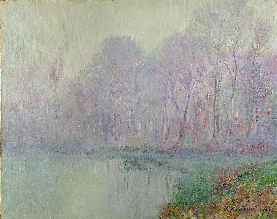 Morning Painting - Morning Mist by Gustave Loiseau