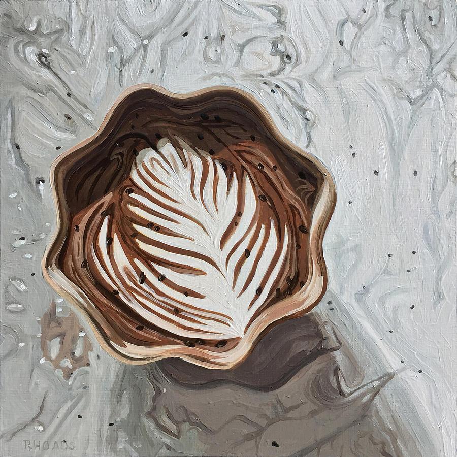 Mocha Painting - Morning Mocha by Nathan Rhoads