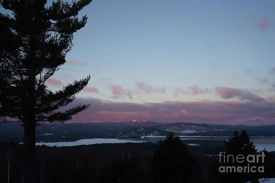 Morning Photograph - Morning on Mount Cardigan by Christine Segalas