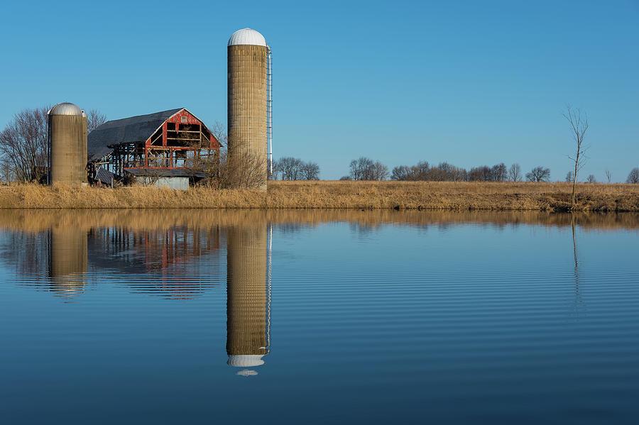 Morning on the Farm by Brad Bellisle