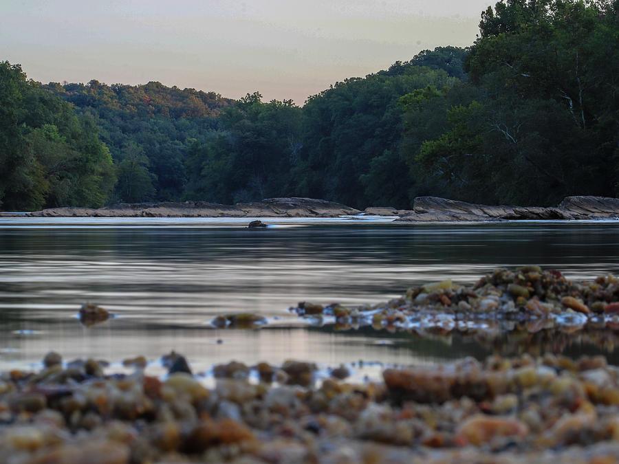 River Digital Art - Morning On The Hooch by Kathleen Illes
