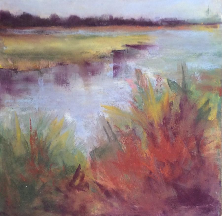 Morning on the Marsh by Karen Ann Patton