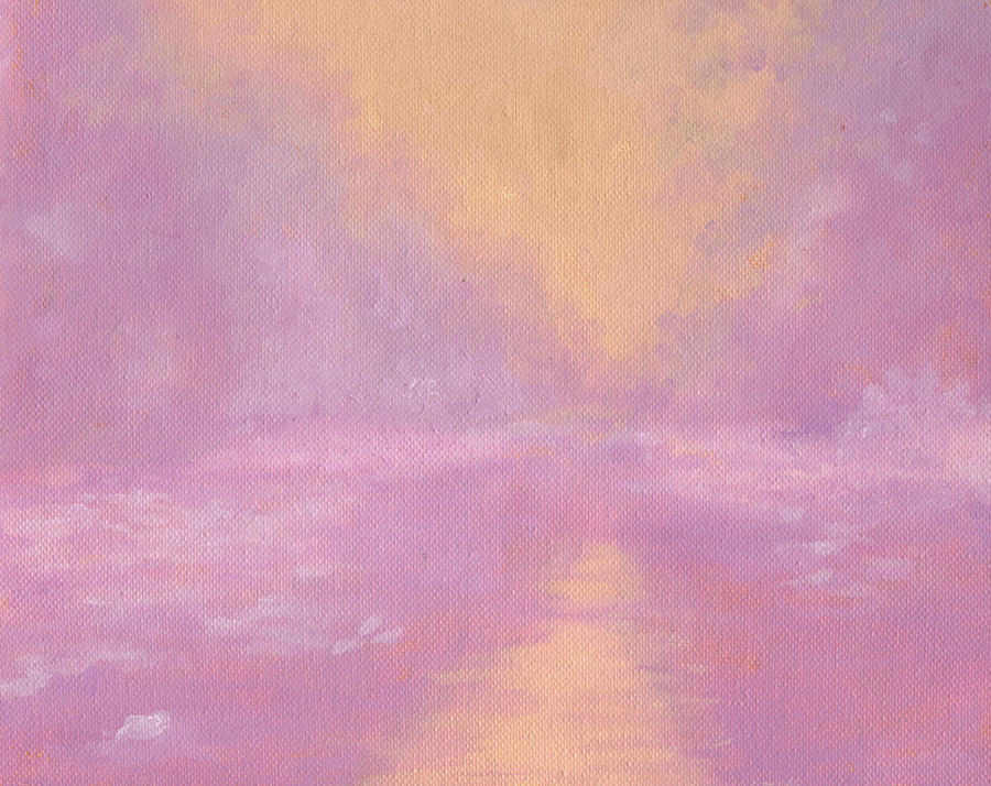 Florida Painting - Morning On The River by Diane Martens