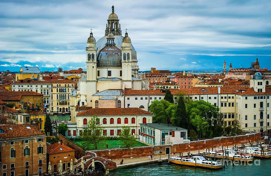 Venice Photograph - Morning Over Venice by Ken Andersen
