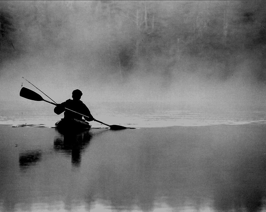Nature Photograph - Morning paddle by Lisa Kane