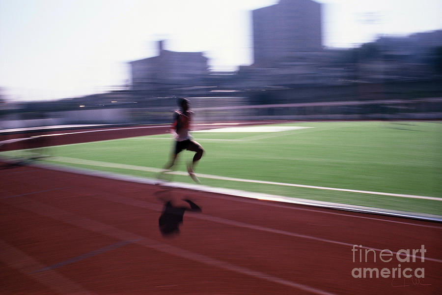 Athlete Photograph - Morning Practice by Carlos Alvim