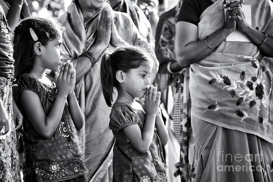 Girl Photograph - Morning Prayers by Tim Gainey