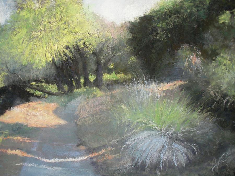 Pastel Pastel - Morning Rays II by Anita Stoll