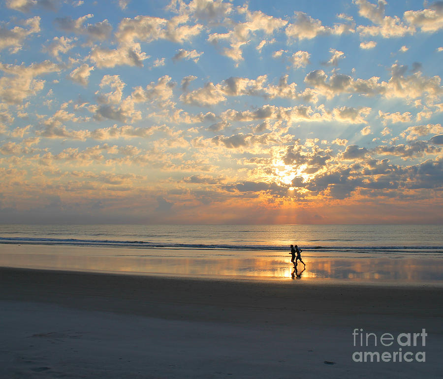 Morning Run by LeeAnn Kendall
