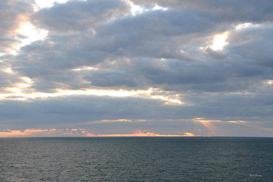 Sky Photograph - Morning Seascape  by Bill Perry