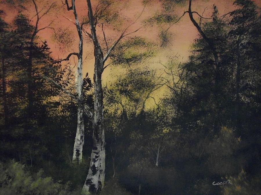 Landscape Painting - Morning by Shawn Cooper