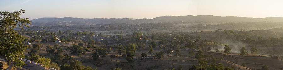 Natural Beauty Photograph - Morning Shine On Udaipur by Atul Daimari