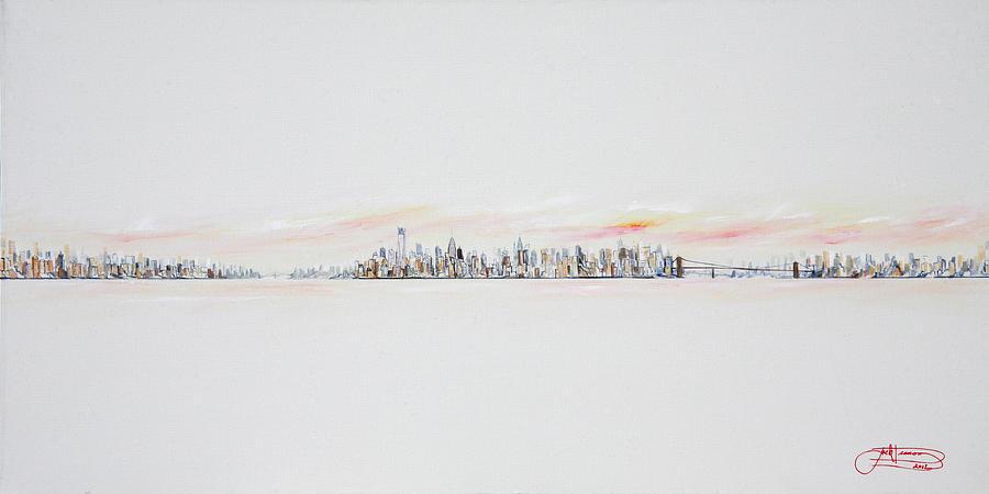 Jack Painting - Morning Sky by Jack Diamond