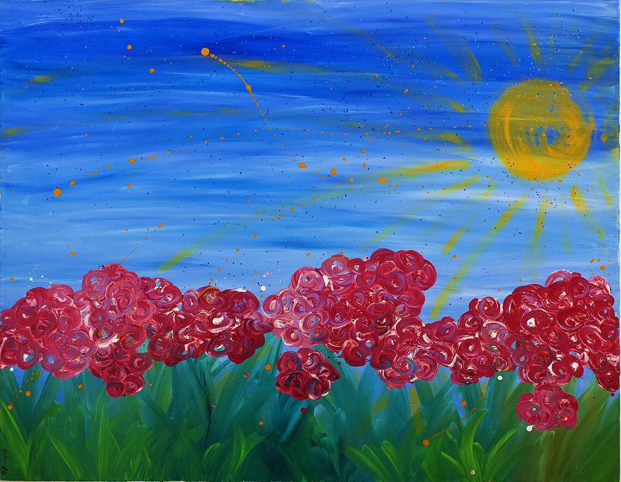 Oil Painting - Morning Smile by Hagit Dayan