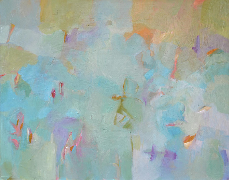 Abstract Painting - Morning Song by Filomena Booth
