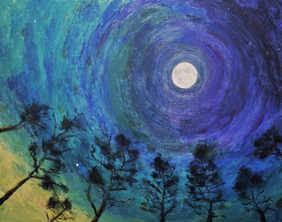 Morning Star Acrylic Painting