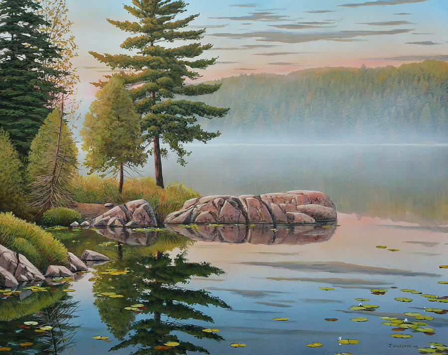 Morning Stillness by Jake Vandenbrink