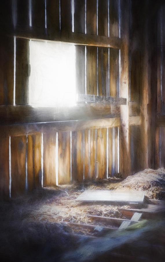 Morning Sun In The Barn Photograph