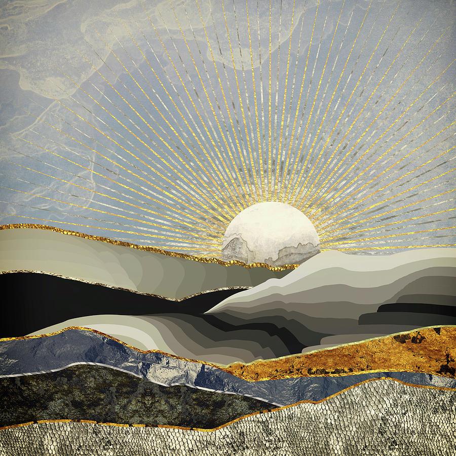 Morning Digital Art - Morning Sun by Katherine Smit