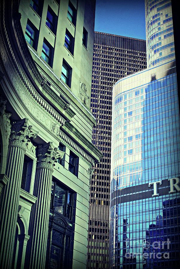 Morning Sunlight Architecture City Of Chicago Photograph