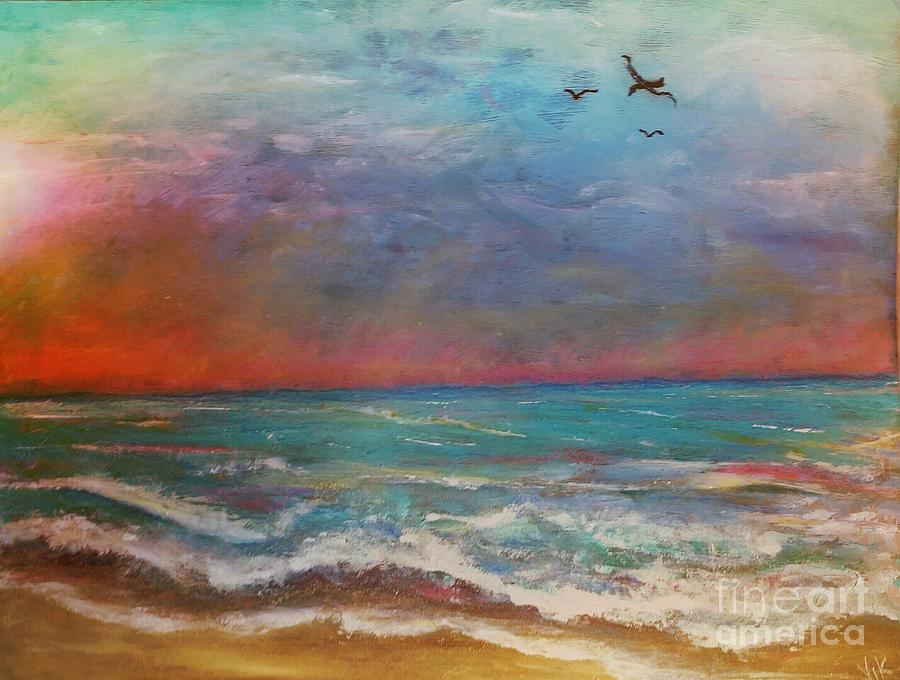 Morning Sunrise by Vickie Scarlett-Fisher