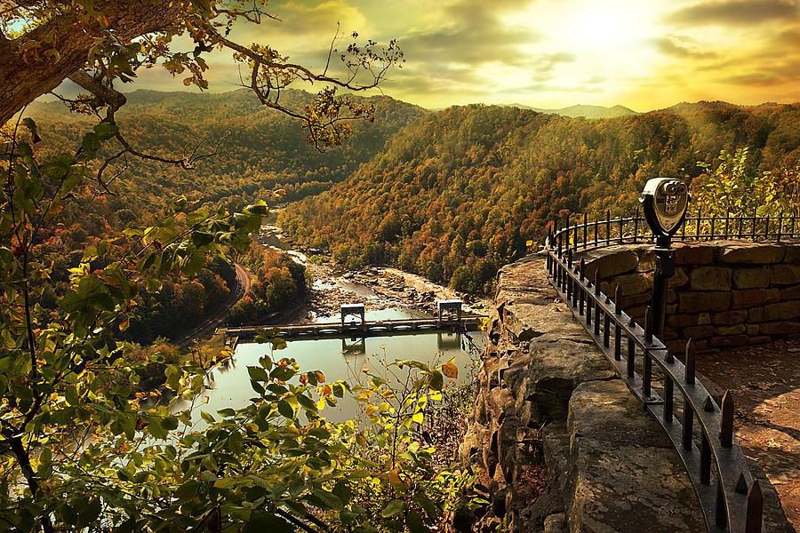 Landscape Photograph - Morning Sunshine by Lj Lambert