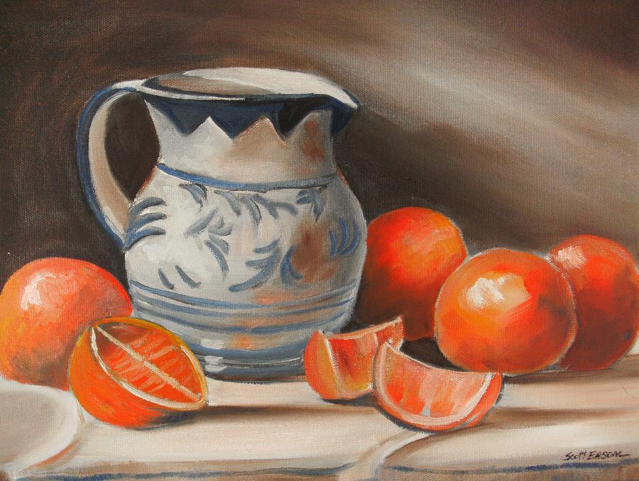 Sunshine Painting - Morning Sunshine by Scott Easom