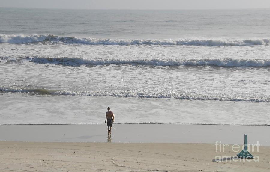 Surfing Photograph - Morning Surf by David Lee Thompson