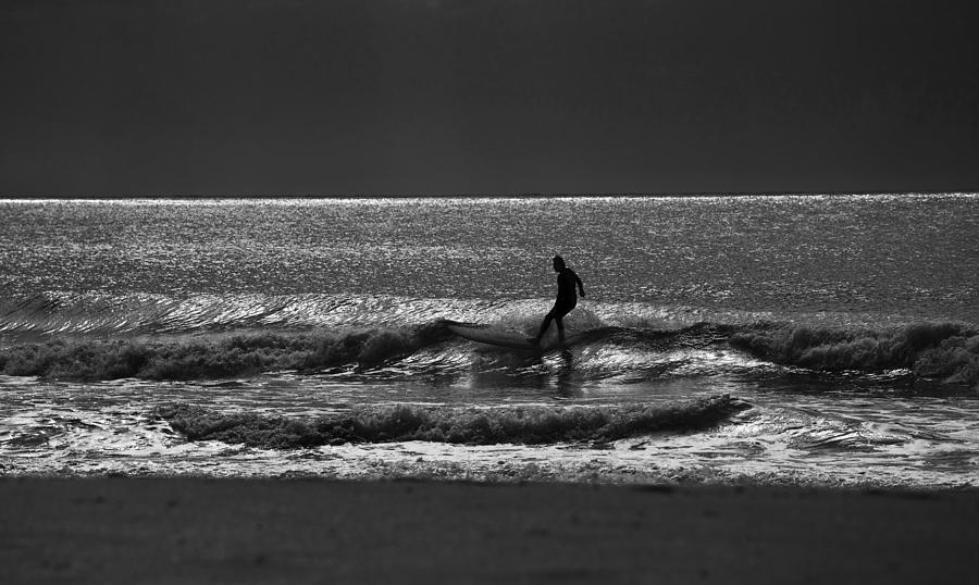 Surfer Photograph - Morning surfer by Sheila Smart Fine Art Photography