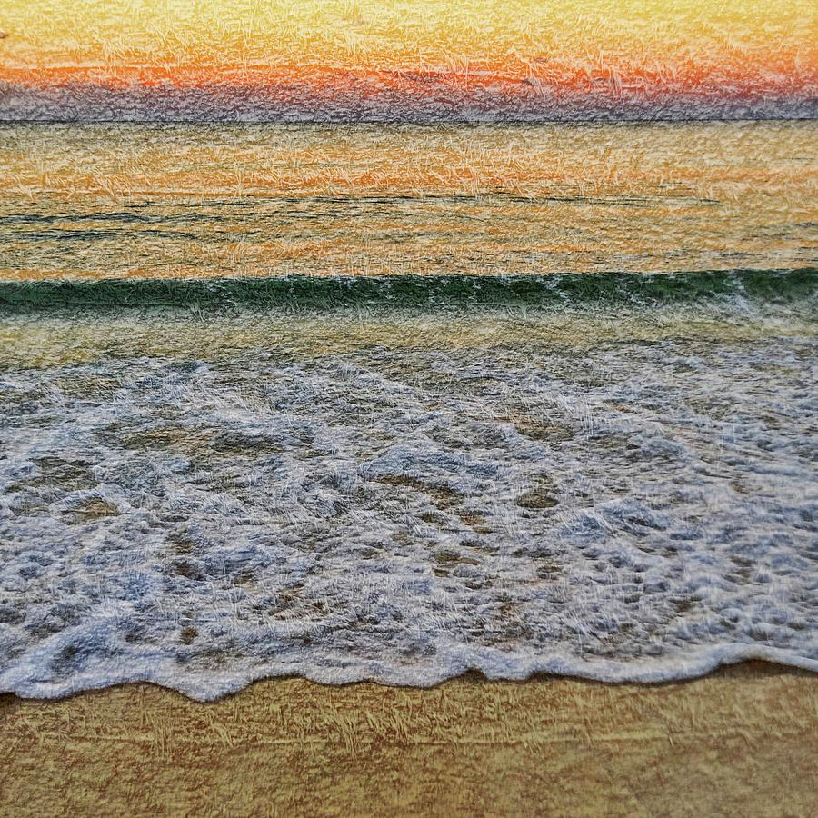 Sunrise Photograph - Morning Textures by Az Jackson