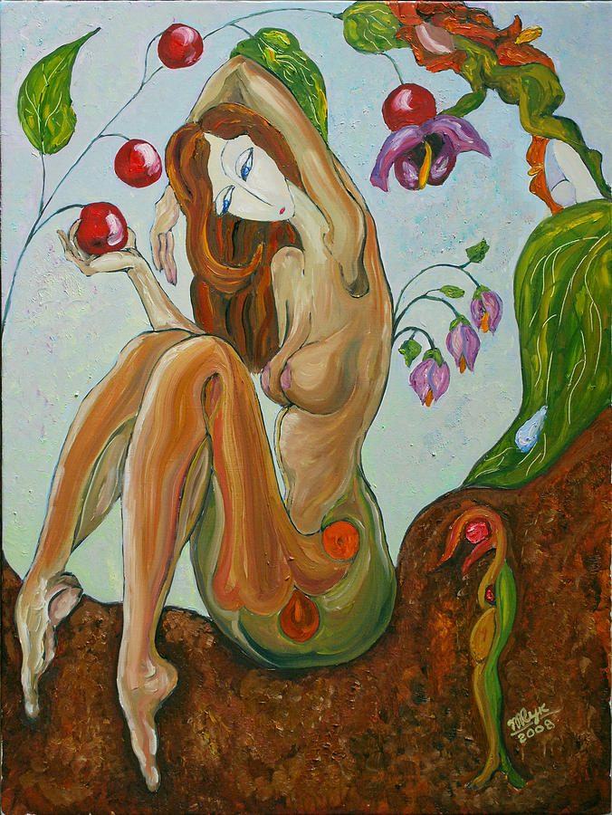 Figurative Art Paintings Painting - Morning Touch by Mila Ryk
